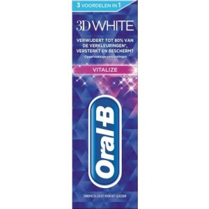 Oral-B Tandpasta 3D White Vitalize 75 ml 8001090127808