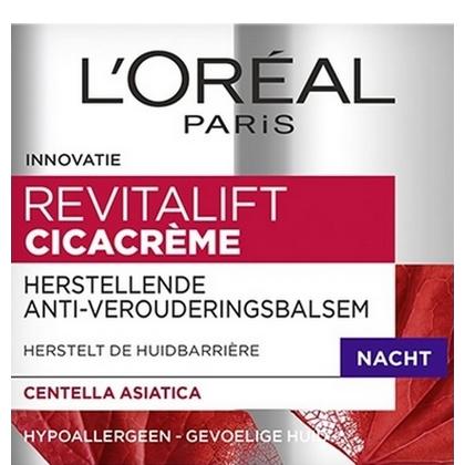 L'Oreal Nachtcreme Revitalift Cicacreme 50 ml 3600523595051