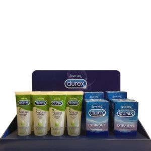 Display Durex Glijmiddel + Condooms 18 Assorti 15410036205638