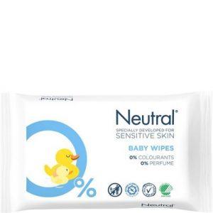 Neutral Babydoekjes Sensitive 63 stuks 5740500004959