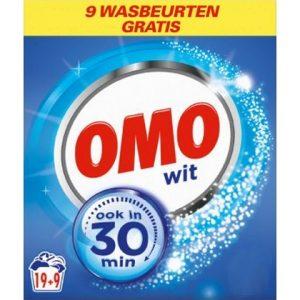 Omo Waspoeder Wit 19 + 9 8710447375778
