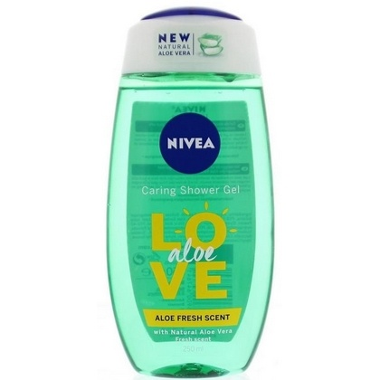 Nivea douchegel love Aloe 250 ml 4005900647641