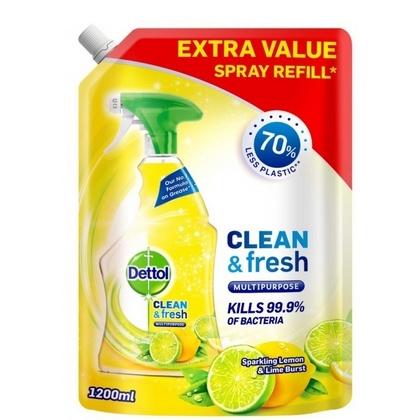 Dettol allesreiniger navulling spray lemon 5011417573020