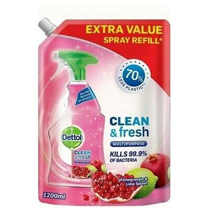 Dettol allesreiniger navulling spray pomegranate 5011417573013