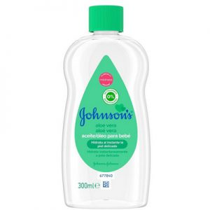 Johnson baby olie aloe vera 300 ml 3574669908504