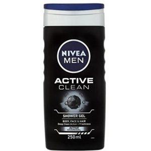 nivea men douchegel active clean 250ml 4005900124821