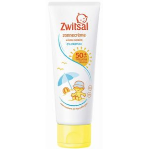 Zwitsal zonnecrème sensitive factor 50 75 ml 8717163739617