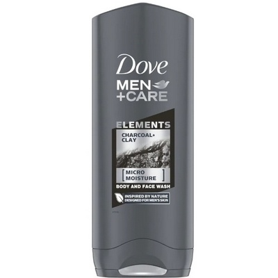 Dove Men Care Douche Charcoal + Clay 250 ml 8710447198094