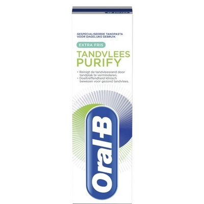 Oral-B tandpasta tandvlees purify 75ml 8001841180144
