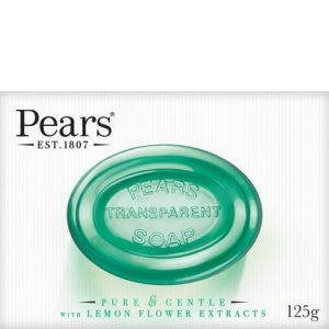 Pears Zeep Transparant Pure & Gentle Lemon Flower 125 g 8901030024061