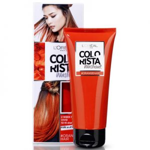 L'Oreal Colorista washout Orange hair 3600523386246