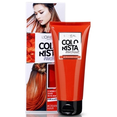 L'Oreal Colorista washout Orange hair 3600523386246
