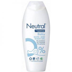 Neutral Baby Bad en Was gel 250 ml 5740500004911