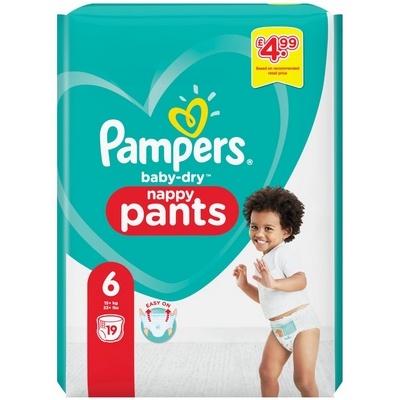 Pampers Baby Dry Nappy Pants 6 19 stuks 8001841122885