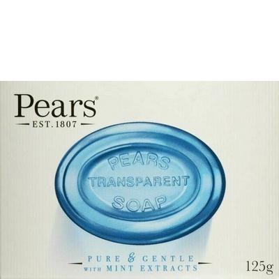 Pears Zeep Transparant Pure & Gentle Mint 125 g 8901030483837