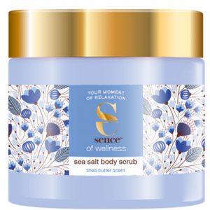 Sence of Wellness Body Scrub Shea Butter 490gr 8720143123344