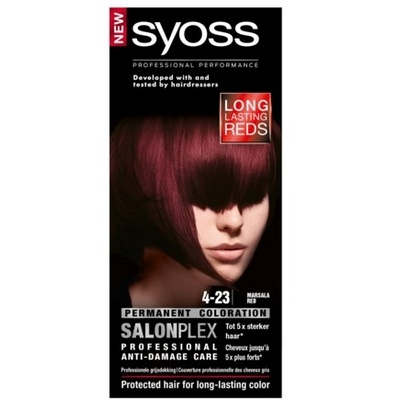 Syoss Haarverf 4-23 Marsala Red 5410091735531