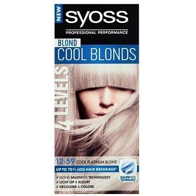 Syoss Haarverf Cool Platinum Blonde 12-59 5410091748210