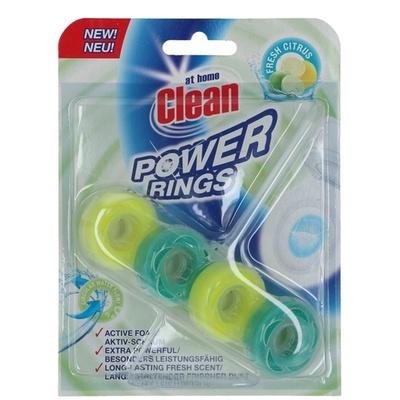 At Home Clean Toiletblok Power Rings Fresh Citrus 8720143121388