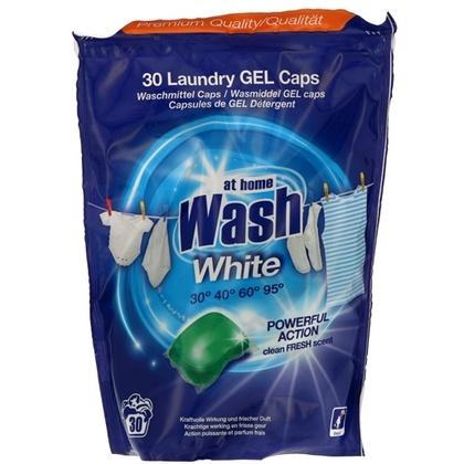 At Home Was Capsules - White Fabric 16 gr. x 30 stuks 8719874193788
