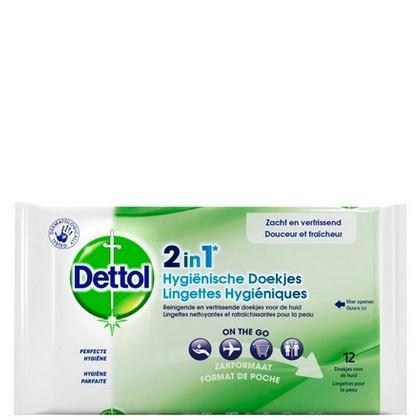 Dettol Hygienische doekjes 12 stuks 5410036303856