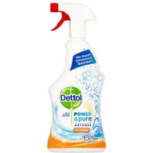 Dettol Allesreiniger - Spray Power & Pure Keuken 750ml 5011417561751