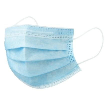 Disposable mondkapje blauw 20200012
