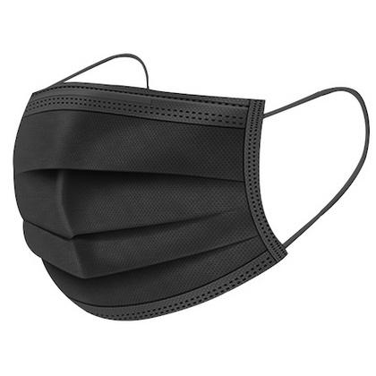 Disposable mondkapje zwart 20200017