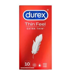 Durex Condooms - Thin Feel Extra Thin 10st 5410036305560