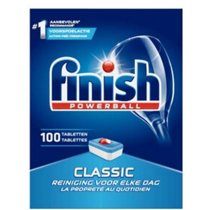 Finish Vaatwastabletten - Powerball Classic 100 stuks 5410036304853