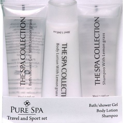 Geschenk set travel & sport Pure Spa 3 x 30ml 8718868061058