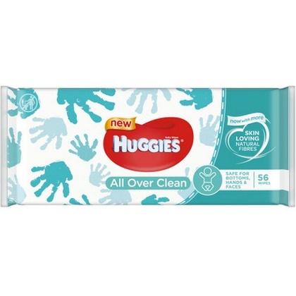 Huggies Billendoekjes All Over Clean 56 stuks 5029053567822