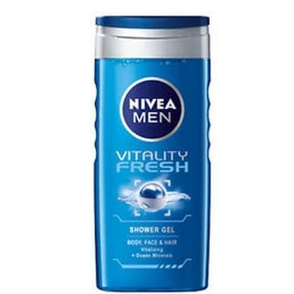 Nivea Douchegel Men Vitality Fresh 250 ml 4005808130177