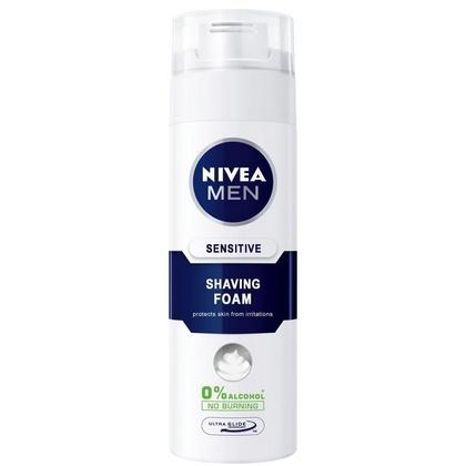 Nivea Scheerschuim Men Sensitive 250 ml 9005800300023