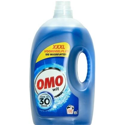 Omo Vloeibaar Wasmiddel - Wit 5 L 100 scoops 8710847970825