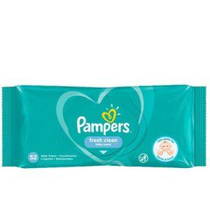 Pampers Babydoekjes Fresh Clean 52 stuks 20200004