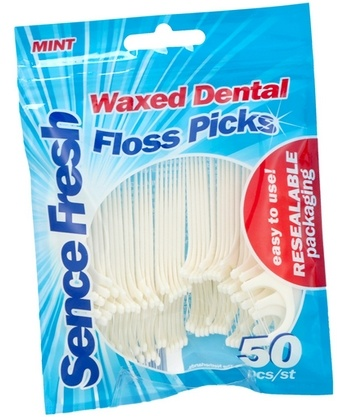 Sencefresh Floss Picks 50 stuks 8717825618724