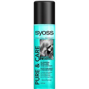 Syoss Anti-klit spray - Pure & Care 200ml 4015100189056