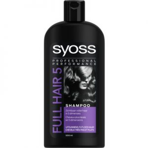 Syoss Shampoo Full Hair 5 500ml 5410091732363