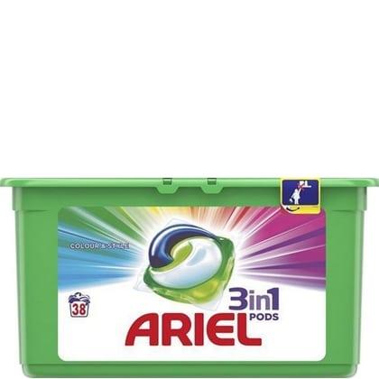Ariel 3 in 1 Pods Colour & Style 38 stuks