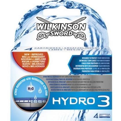Wilkinson Hydro 3 4mesjes 4027800002009