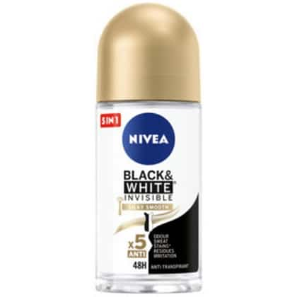 Nivea Deo Roll On - Invisible Black & White Silky Smooth 42355656
