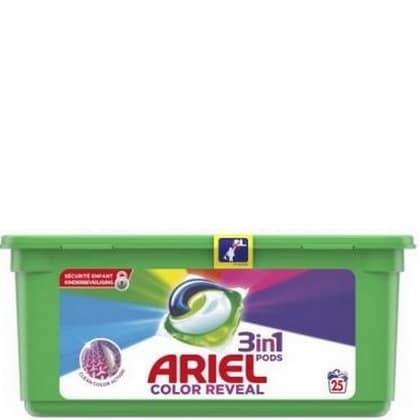 Ariel Pods 3 in1 Colour Reveal 25 stuks 8001090730305