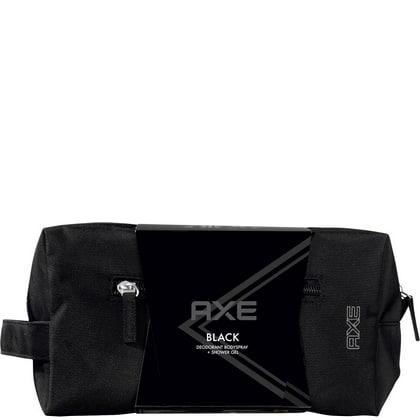 Geschenk Axe - Black Washbag Douche 250 ml, Deospray 150 ml 8712561935562