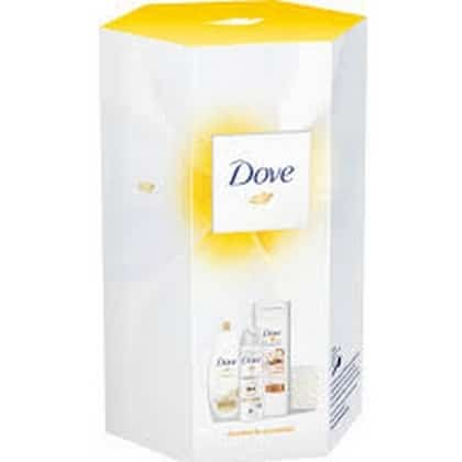 Geschenk Dove - Douche 250 ml, Lotion 400 ml, Deo 150 ml 8717163709825
