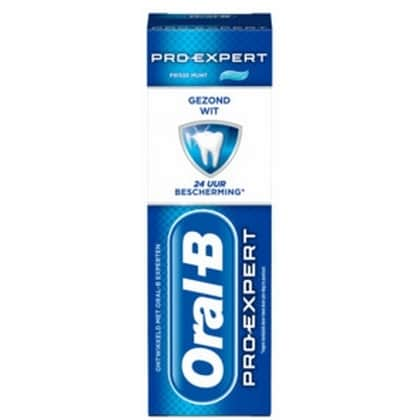Oral-B Tandpasta - Pro-Expert Gezond Wit 75 ml 3014260091361