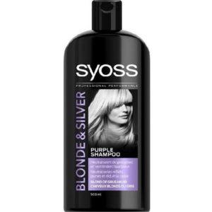 Syoss Shampoo - Blonde & Silver 500 ml 5410091755911