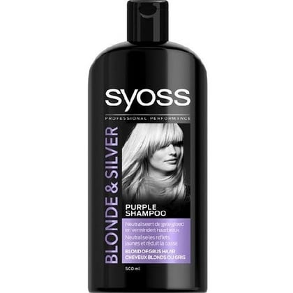Syoss Shampoo - Blonde & Silver 500 ml 5410091755911