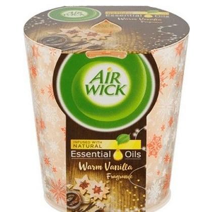 Airwick Geurkaars Essential Oils - Warm Vanilla 105 gr 5999109541291