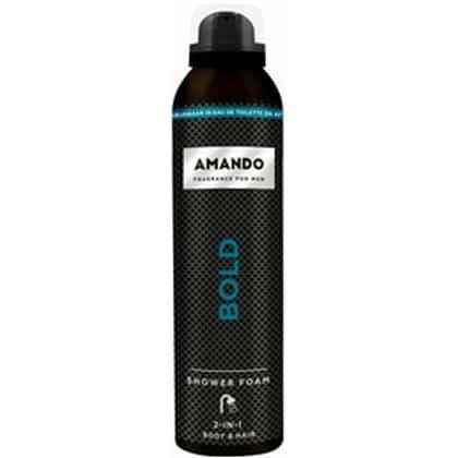 Amando Shower Foam - 2 in 1 Bold 200 ml 8714319192586